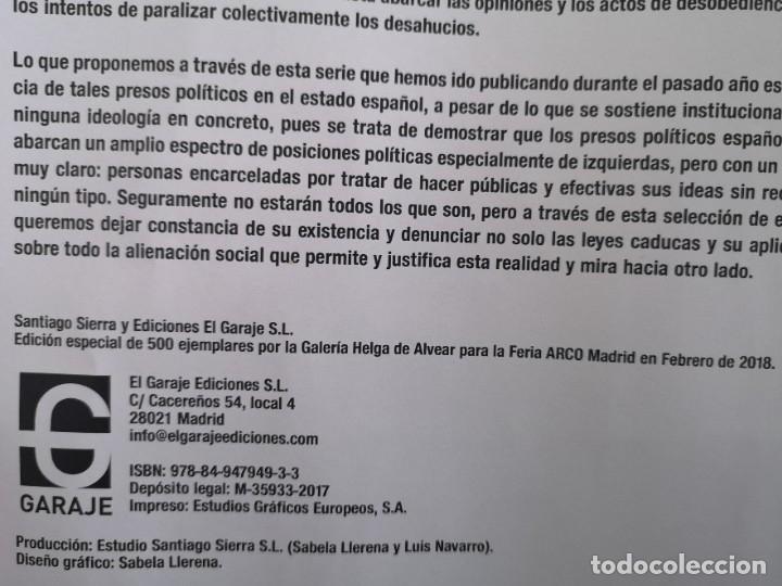 Varios objetos de Arte: Presos políticos, Santiago Sierra, ARCO 2018 - Foto 8 - 179069053