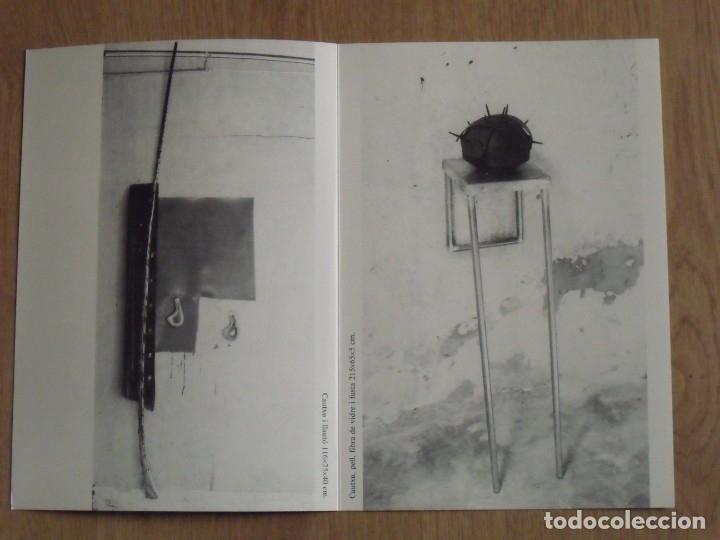 Varios objetos de Arte: Joan Rom. Díptico Galería René Metras. Barcelona. 1988. Buen estado. 23x16 cm. - Foto 2 - 179074096