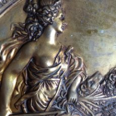 Varios objetos de Arte: MARAVILLOSO RELIEVE ANTIGUO DIOSA CIBELES. Lote 179176797