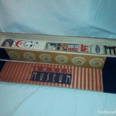 Varios objetos de Arte: CAJA BOXED MUSEUM GUGGENHEIM CUBOS CON PINTURAS DE PICASSO ENTRE OTROS PINTORES AÑO 1993. Lote 179209211