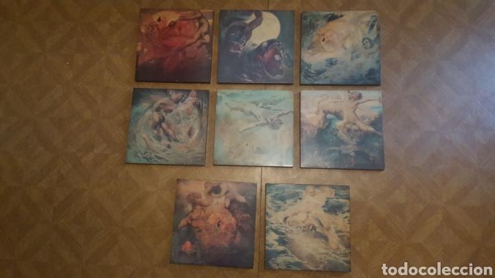 Varios objetos de Arte: Lote 8 cuadros - Museo de Nestor - Poema del mar - Las Palmas de Gran Canaria - Foto 2 - 179254918