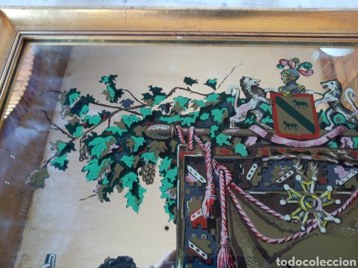 Varios objetos de Arte: Cuadro cristal Málaga Virgen - Foto 2 - 179380028