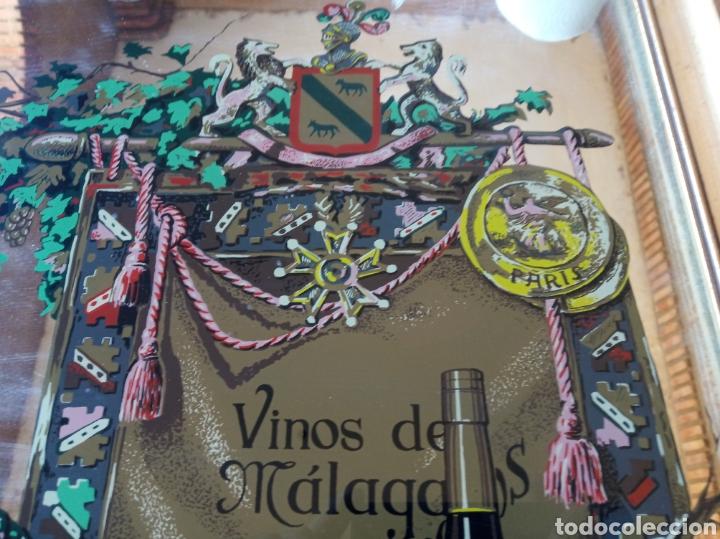 Varios objetos de Arte: Cuadro cristal Málaga Virgen - Foto 3 - 179380028