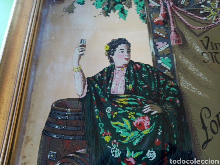 Varios objetos de Arte: Cuadro cristal Málaga Virgen - Foto 4 - 179380028