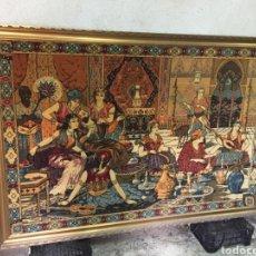 Varios objetos de Arte: TAPIZ. ORIGINAL PERSIA. AÑOS 50. ESPECTACULAR.. Lote 179390543