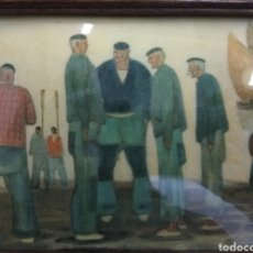 Arte: ANTIGUO CUADRO RAMÓN DE ZUBIAURRRE ESMALTADO ARRANTZALES VASCOS ESMALTE FIRMADO PAIS VASCO BASQUE. Lote 195701177