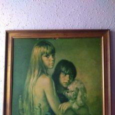 Varios objetos de Arte: CUADRO ( FIRMADO FRANCISCO RIVERA ) , REALIZADO SOBRE TABLA. MÁS CUADROS ANTIGUOS EN MI PERFIL.. Lote 180033547