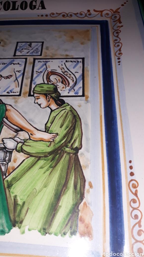 Varios objetos de Arte: Bandeja de cerámica de Xavier Clau, cerámica dAlzira. Pertenecía a la propia Dra. Picallo - Foto 3 - 180149188
