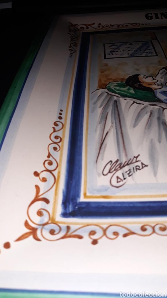 Varios objetos de Arte: Bandeja de cerámica de Xavier Clau, cerámica dAlzira. Pertenecía a la propia Dra. Picallo - Foto 7 - 180149188