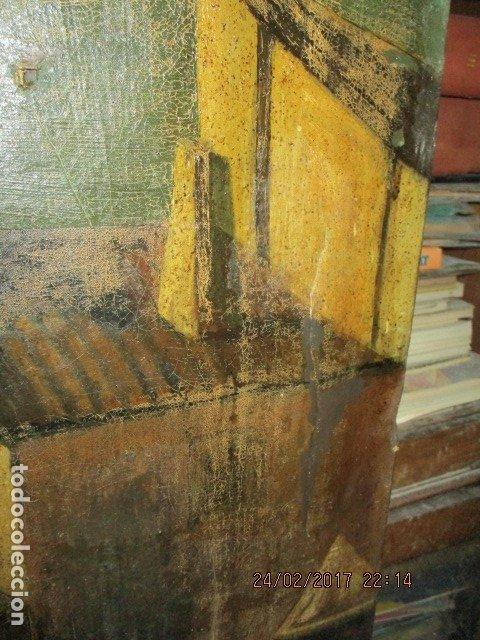 Varios objetos de Arte: ENORME PINTURA ANTIGUA OLEO LIENZO SIGLO XIX XVIII 150 X 120 - Foto 19 - 82969376