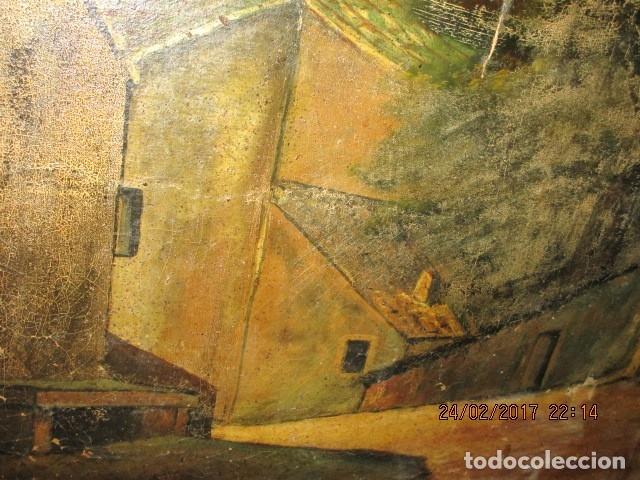 Varios objetos de Arte: ENORME PINTURA ANTIGUA OLEO LIENZO SIGLO XIX XVIII 150 X 120 - Foto 21 - 82969376