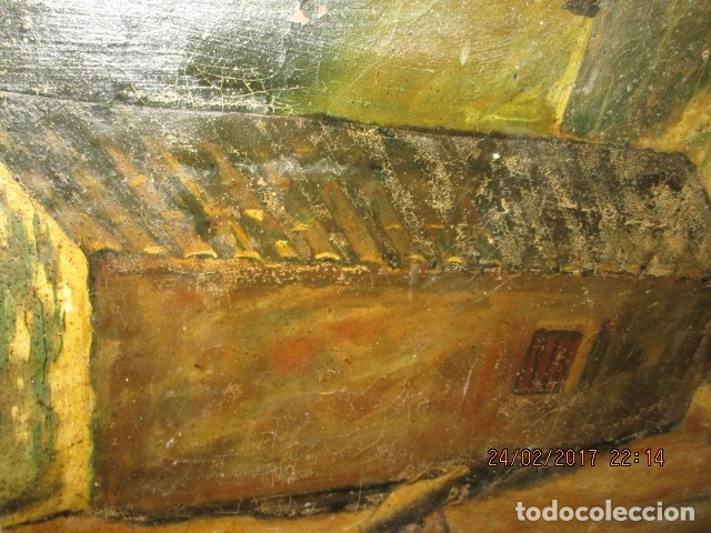 Varios objetos de Arte: ENORME PINTURA ANTIGUA OLEO LIENZO SIGLO XIX XVIII 150 X 120 - Foto 22 - 82969376