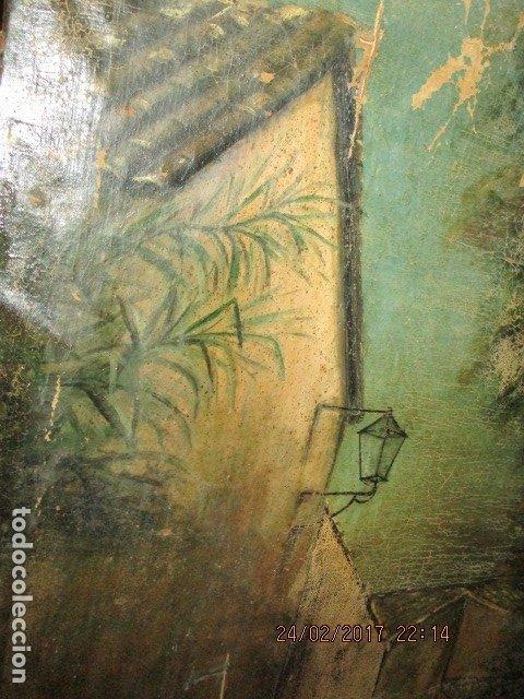Varios objetos de Arte: ENORME PINTURA ANTIGUA OLEO LIENZO SIGLO XIX XVIII 150 X 120 - Foto 23 - 82969376