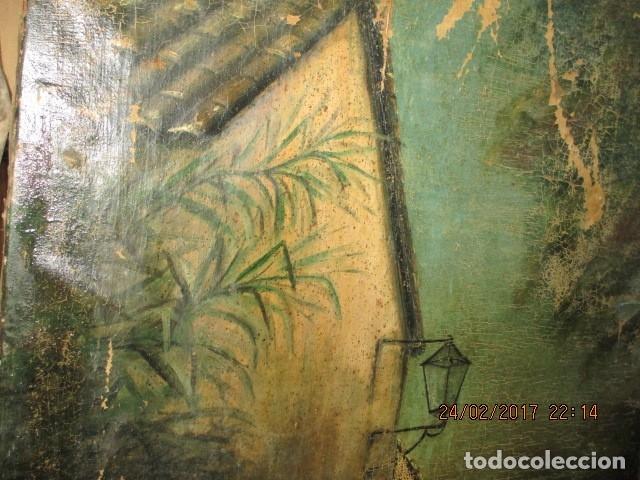 Varios objetos de Arte: ENORME PINTURA ANTIGUA OLEO LIENZO SIGLO XIX XVIII 150 X 120 - Foto 24 - 82969376