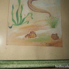 Varios objetos de Arte: ANTIGUA PINTURA ORIGINAL FIRMADO M. NAVARRO . Lote 180216280