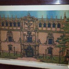 Art: CUADRO DE LA FACHADA U DE ALCALA DE HENARES,VER FOTOS. Lote 180255550