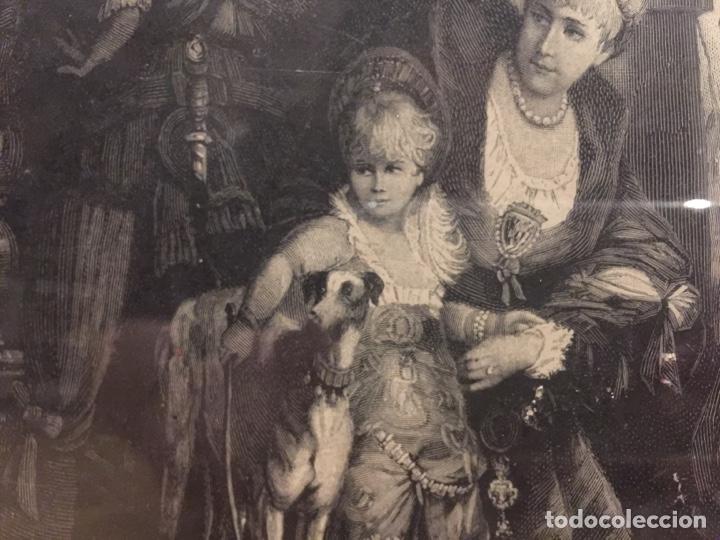 Varios objetos de Arte: Espectacular reproducción de F.Feldweg impreso ilegible 73cm X 54cm - Foto 6 - 180277212