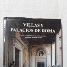 Varios objetos de Arte: VILLAS Y PALACIOS DE ROMA, CARLO CRESTI Y CLAUDIO RENDINA, EDITA KÓNEMANN. Lote 180279760