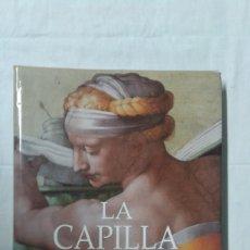 Varios objetos de Arte: LA CAPILLA SIXTINA, UNA RESTAURACIÓN HISTORICA, EDITA NEREA. Lote 180280033