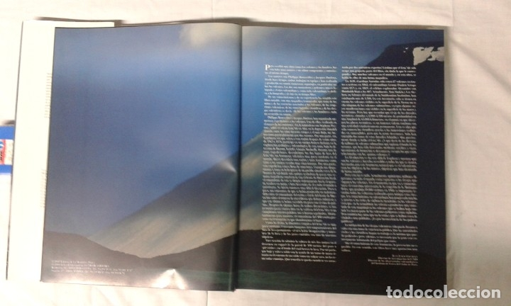 Varios objetos de Arte: LOS VOLCANES Y LOS HOMBRES, EDITA LUNWERG - Foto 2 - 180280306