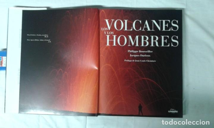 Varios objetos de Arte: LOS VOLCANES Y LOS HOMBRES, EDITA LUNWERG - Foto 3 - 180280306