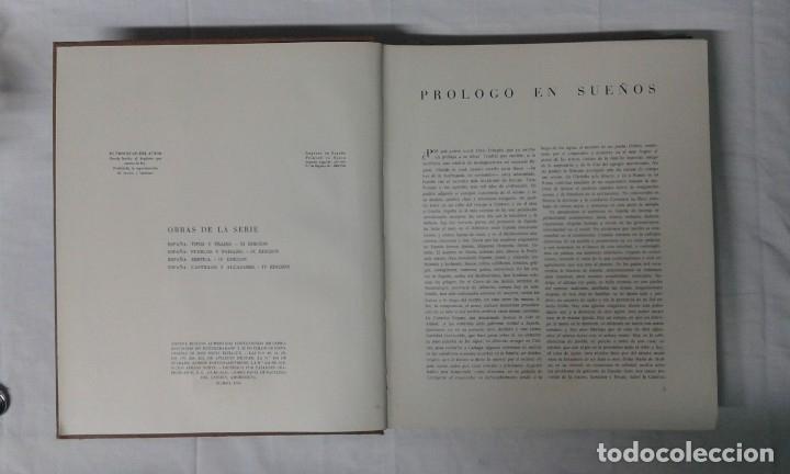 Varios objetos de Arte: ESPAÑA, PUEBLOS Y PAISAJES, JOSÉ ORTIZ ECHAGUE, EDITORIAL MAYFE - Foto 3 - 180282006