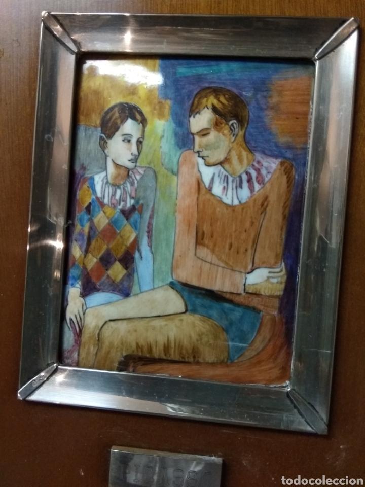 Varios objetos de Arte: CUADRO ESMALTE PICASO - Foto 2 - 180308190
