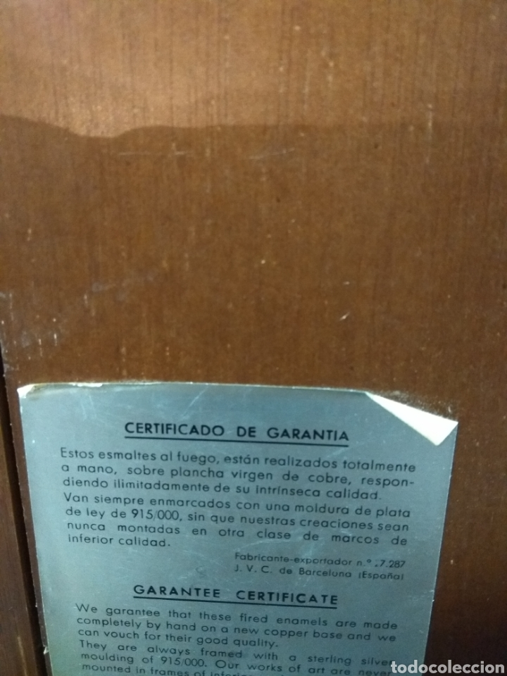 Varios objetos de Arte: CUADRO ESMALTE PICASO - Foto 3 - 180308190