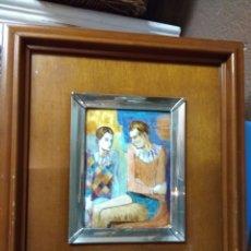 Varios objetos de Arte: CUADRO ESMALTE PICASO. Lote 180308190