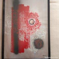Varios objetos de Arte: OBRA GENUINA DEL ARTISTA LLUÍS BALDOSA FUNDADOR DE LA U P V BILBAO. Lote 180938133