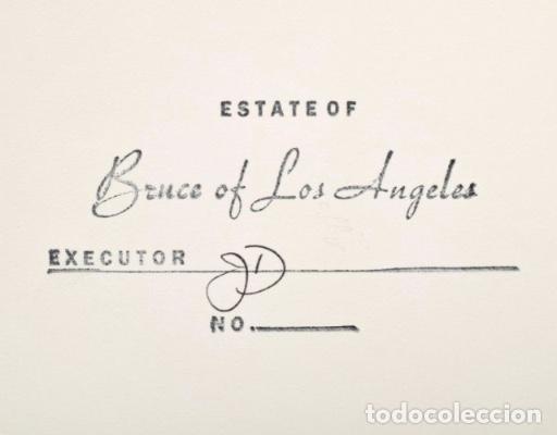 Varios objetos de Arte: LARGE NUDE JOE DALLESANDRO PHOTO, BRUCE BELLAS ESTATE . BRUCE OF LOS ANGELES ARCHIVE: MALE PHYSIQUE - Foto 3 - 181122881