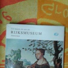 Varios objetos de Arte: LOS TESOROS DE ARTE DEL RIJKSMUSEUM, 1ª EDICIÓN 1969 BUEN ESTADO. Lote 181146920