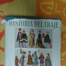 Varios objetos de Arte: HISTORIA DEL TRAJE EN IMAGENES, EDITORIAL GUSTAVO GILI S.A.. Lote 181155797
