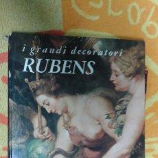Varios objetos de Arte: I GRANDI DECORATORI RUBENS, II CICLO DI MARIA DE MEDICI, BUEN ESTADO. Lote 181156177