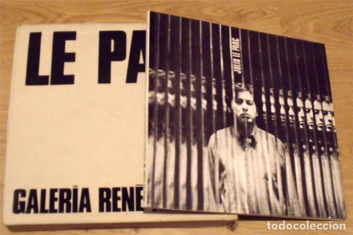 Varios objetos de Arte: Julio le Parc. Caja con gafas psicodélicas y catálogo Galería René Metras. 32x32 cm. 1969. - Foto 2 - 238612950
