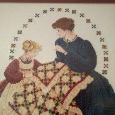 Varios objetos de Arte: CUADRO PUNTO CRUZ. Lote 181350208