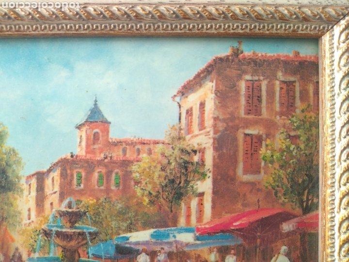 Varios objetos de Arte: CUADRO ( OLEO SOBRE METAL, FIRMADO ). MÁS CUADROS ANTIGUOS EN MI PERFIL - Foto 10 - 181709455