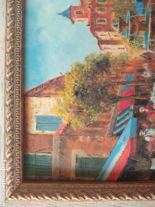 Varios objetos de Arte: CUADRO ( OLEO SOBRE METAL, FIRMADO ). MÁS CUADROS ANTIGUOS EN MI PERFIL - Foto 11 - 181709455