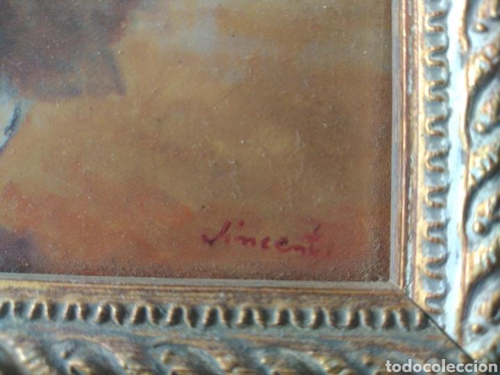 Varios objetos de Arte: CUADRO ( OLEO SOBRE METAL, FIRMADO ). MÁS CUADROS ANTIGUOS EN MI PERFIL - Foto 13 - 181709455