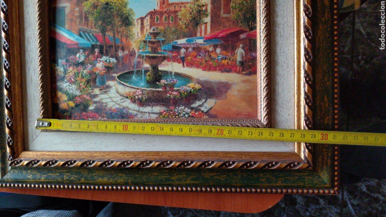 Varios objetos de Arte: CUADRO ( OLEO SOBRE METAL, FIRMADO ). MÁS CUADROS ANTIGUOS EN MI PERFIL - Foto 15 - 181709455