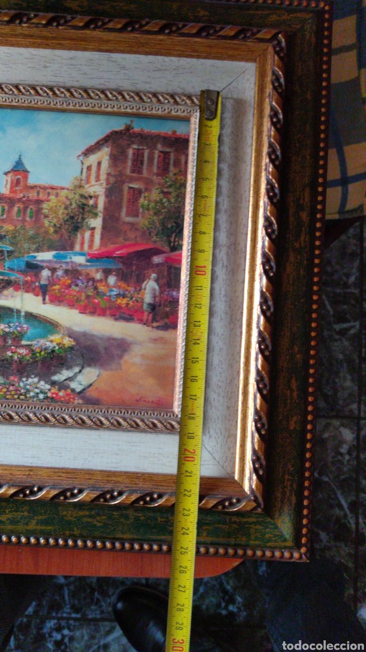 Varios objetos de Arte: CUADRO ( OLEO SOBRE METAL, FIRMADO ). MÁS CUADROS ANTIGUOS EN MI PERFIL - Foto 16 - 181709455