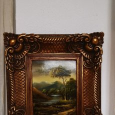 Varios objetos de Arte: PRECIOSO CUADRO DE PINTURA PAISAJE. Lote 181766660