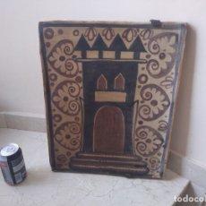 Varios objetos de Arte: IMPRESIONANTE ANTIGUO SOCARRAT VALENCIANO.8 KG 45X36 CMS . Lote 181999977