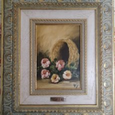 Varios objetos de Arte: ÓLEO,VALLS. Lote 182074532