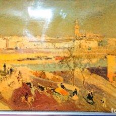 Varios objetos de Arte: CUADRO AL ESMALTE SOBRE UNA OBRA DEL PINTOR SOROLLA. Lote 182146700