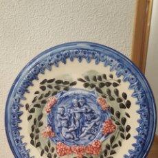Varios objetos de Arte: PLATO DECORATIVO. Lote 182305410