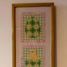 Varios objetos de Arte: CUADRO PUNTO DE CRUZ. Lote 182747065