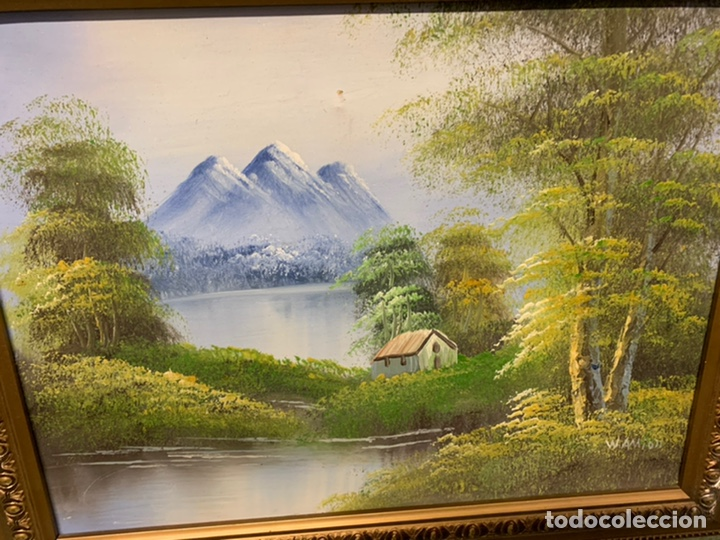 Varios objetos de Arte: PRECIOSO CUADO con el marco dorado - Foto 2 - 182873688