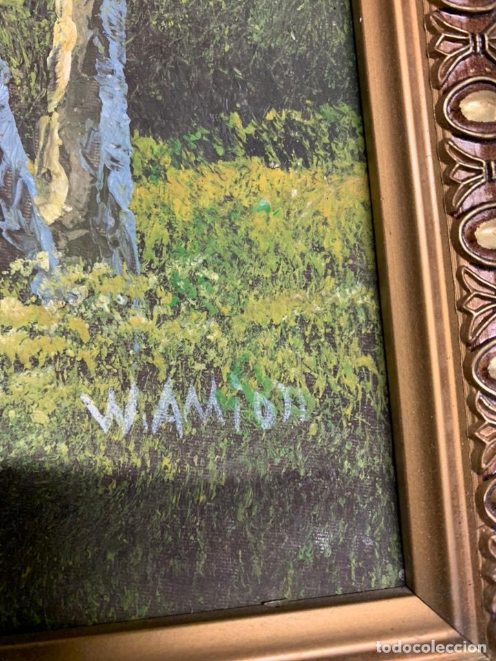 Varios objetos de Arte: PRECIOSO CUADO con el marco dorado - Foto 5 - 182873688