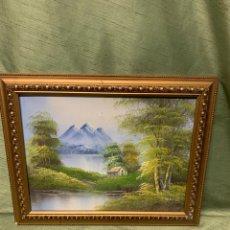 Varios objetos de Arte: PRECIOSO CUADO CON EL MARCO DORADO. Lote 182873688